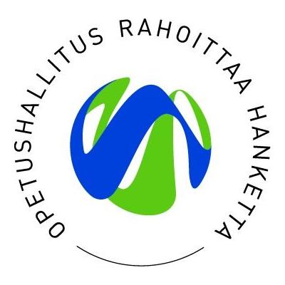 Opetushallitus rahoittaa hanketta logo